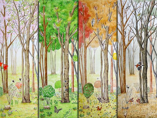 雑木林の四季